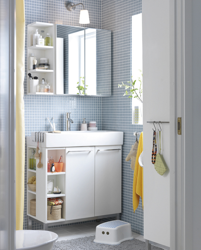 Studio inma berm dez ikea lill ngen for Bathroom cabinet ideas storage