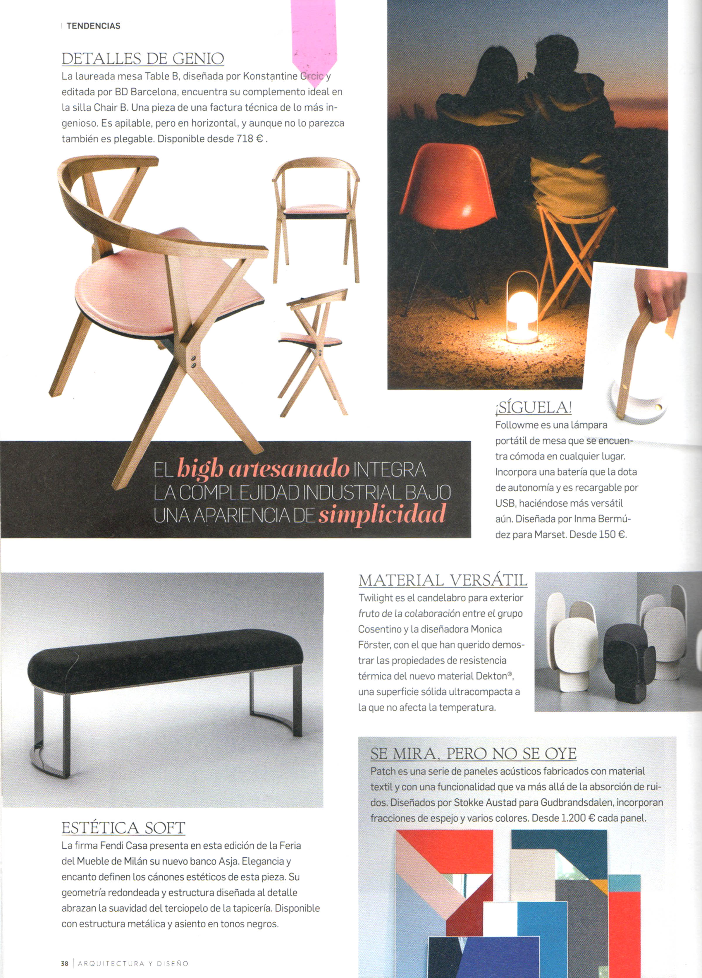 Studio Inma Berm Dez Press # Disenos Vor Muebles